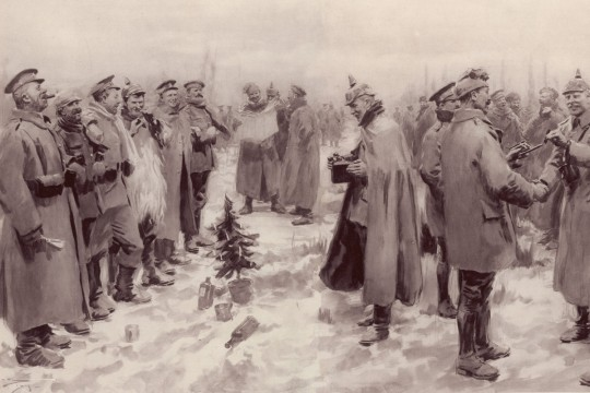 Tønder, julefreden 1914 og en helt fantastisk historie