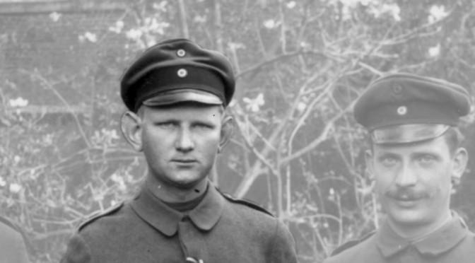 """27. september 1916 – Otto Iversen: """"anstrengende tjeneste"""""""