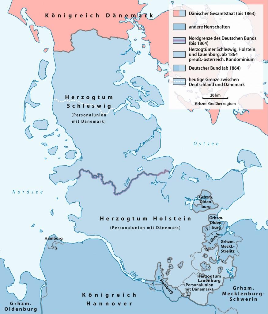 Hertugdømmerne efter 1864