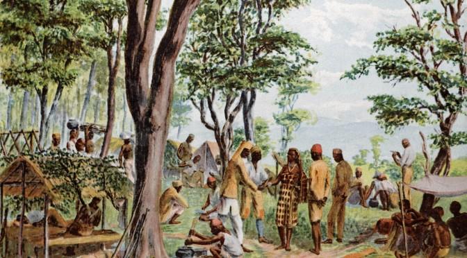 23. oktober 1917. Nis Kock får nyt om et slag i Østafrika: Mahiva.