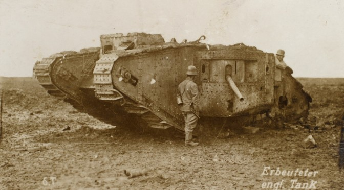 "12. oktober 1916 – Lorens Jepsen: ""et 15 m langt Panser-Auto"""