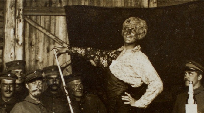 16. september 1916 – Fra billedsamlingen: Anton optræder