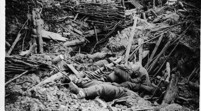 "8. oktober 1916. Ved Somme: ""Lad kun være, for jeg er færdig!"""