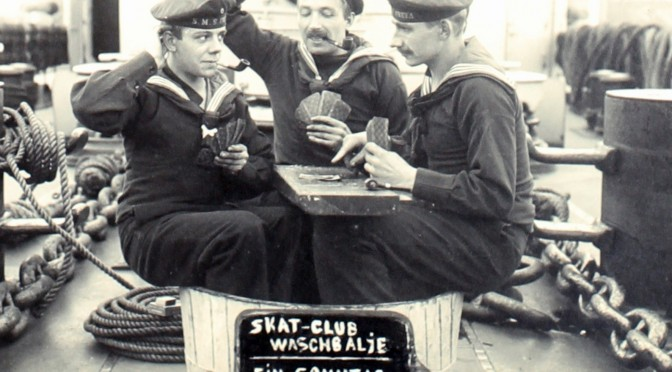 17. oktober 1916. Kaffepunche med Rød Aalborg i Swinemünde