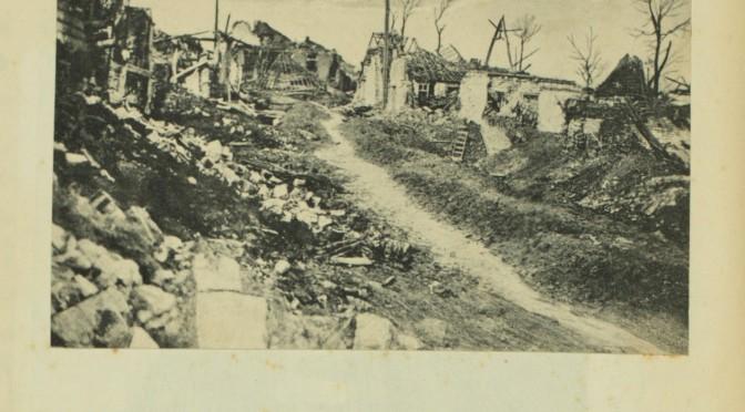 23. december 1916. Gennem mudderet til fronten ved Somme