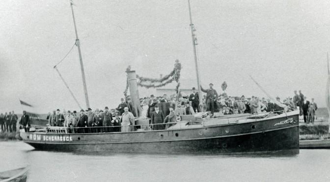 27. oktober 1916. Den primitive Rømøfærge og andre nyheder fra Sønderjylland