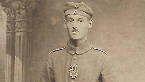 "28. april 1917 – Milert Schulz: ""… einen Berg gestürmt"""