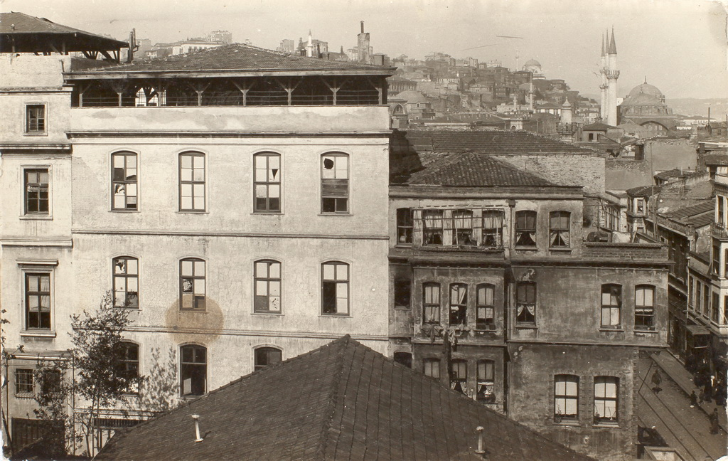 Konstantinopel, 1918 (Zeppelin- og Garnisonsmuseet Tønder)
