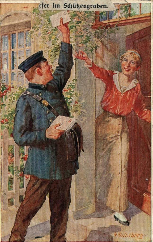 1916-12-12-lir84-otto-theodor-wagner-postbud-afleverer-post-til-en-dame