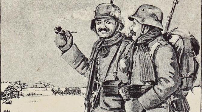 21. december 1916. Julekort fra Otto Theodor Wagner