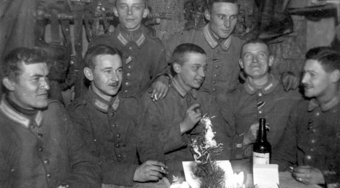 24. december 1916. Sønderjysk jul i understanden (dækningsrummet)