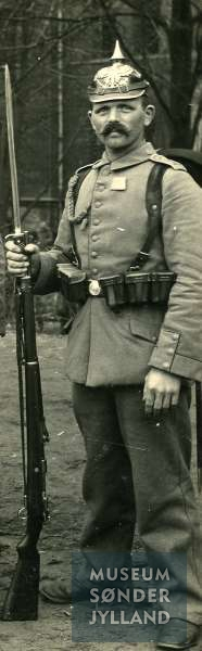 Jørgen Christensen Bonde (1881-1917) Fjelbymark, Lysabild