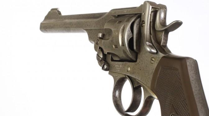 Fra samlingerne: Britisk Webley VI-revolver