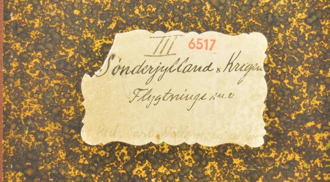 12. april 1917. Fra Willemoës' notesbøger: A.S.' beretning fra Vestfronten