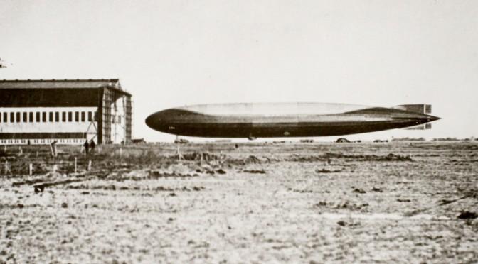 13. marts 1918 – Tønder Luftskibsbase: L54´s hjemkomst