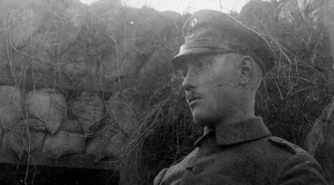 """13. maj 1918 – Johannes Ankersen: """"En engelsk flyver har vel bemærket vores aktivitet …"""""""
