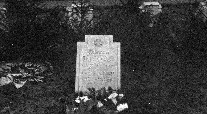 """12. september 1917. Claus Eskildsen ved Verdun: """"Jeg skal ikke hver Dag sætte Livet paa Spil for nogle Underskrifters Skyld."""""""