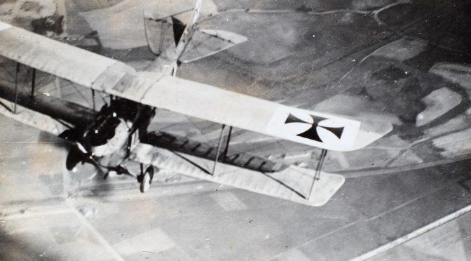 16. april 1918 – Tønder Luftskibsbase: Fly fra Nordholz