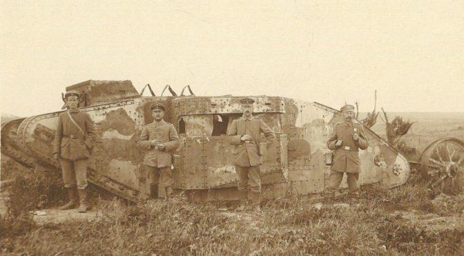 20. november 1917. I kamp med engelske tanks