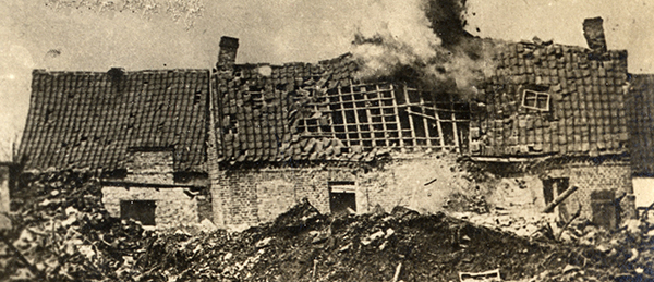 23. april 1917. Johannes Christensen. Skillelinjen mellem liv og død
