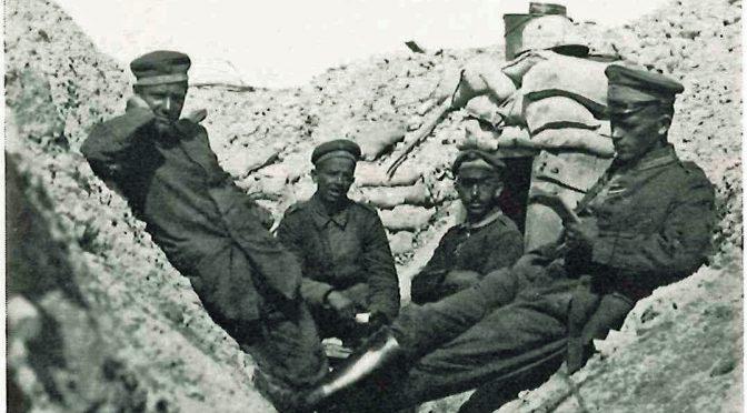 21. september 1917. Endelig finder Bergholt liget af løjtnant Knutz