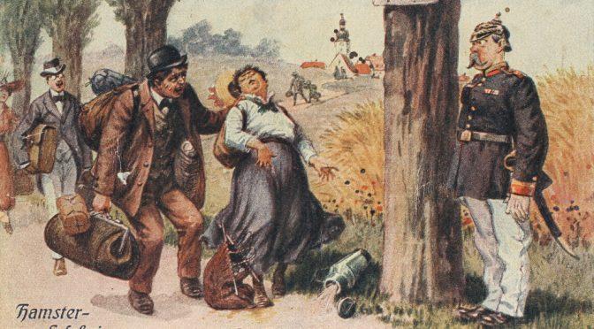 22. maj 1917 – Avisen Hejmdal: En blodig næse, hamstring, kulmangel og tyveri