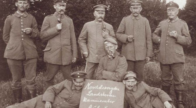 "4. juli 1917 – L.P. Christensen: ""… tramme rundt i fortiden"""