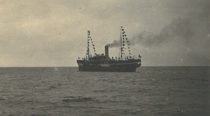 31. marts 1919. St. Thomas ankommer til København med sønderjyske krigsfanger