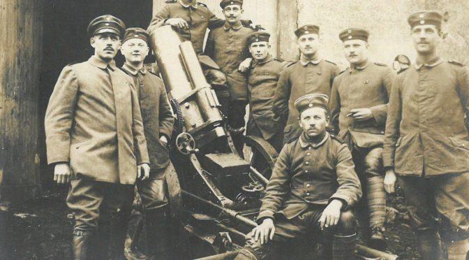 """15. juli 1918 – Rasmus Damm: """"Der er givet Ordre til at skyde alle ned"""""""
