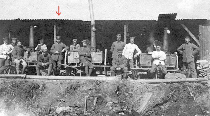14. december 1918. Ingen mad i køkkenet
