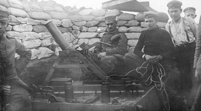 """11. februar 1918. Tysk soldat i Belgien: """"De gamle kvinder truede ad os."""""""
