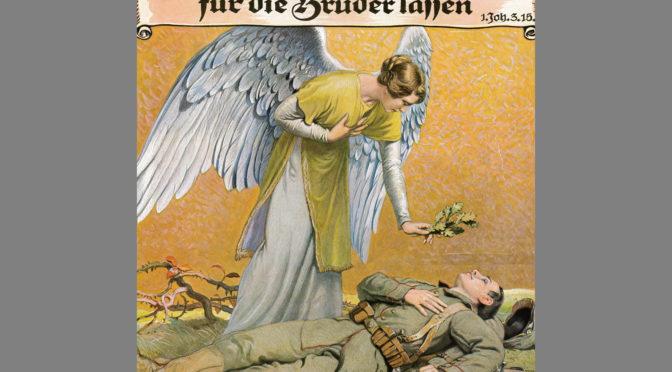 28. maj 1918. Peter Andresens lig hentes hjem til Notmark