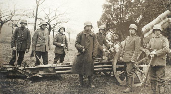 """4. september 1918: Frederik Tychsen: """"Vi mærkede straks at modstanderen var os meget overlegen i antal af kanoner."""""""
