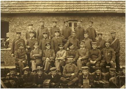 13. oktober 1918. Kedelig vagttjeneste
