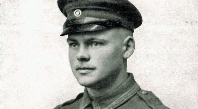 """14. maj 1918. Løjtnanten er en """"Blödmann-Holweg!"""""""