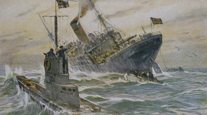 """7. januar 1918 – Max Valentiner: """"Det havde bogstavlig talt sprøjtet med blod"""""""