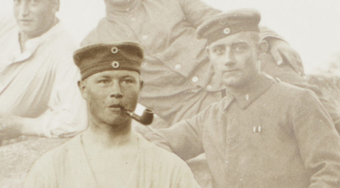 2. august 1918. Sidste mand før franskmændene? Frederik Tychsen på ensom vagt ved ammunitionen