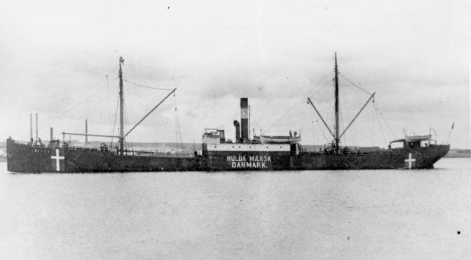 10. januar 1918 – Max Valentiner: Sænkning af dansk damper