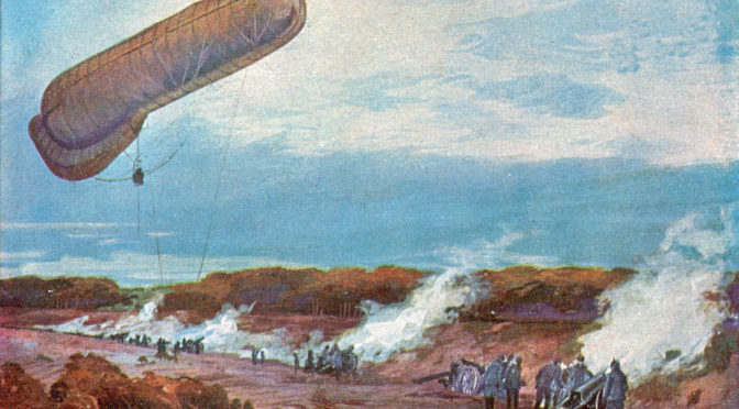 1. juni 1918. Ballonzug 33 nægter at synge under marchen
