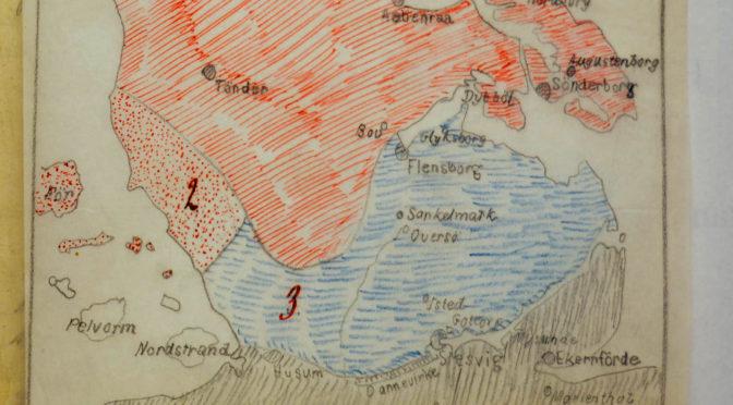 9. april 1918. Hvad skal der ske med Sønderjylland efter krigen?
