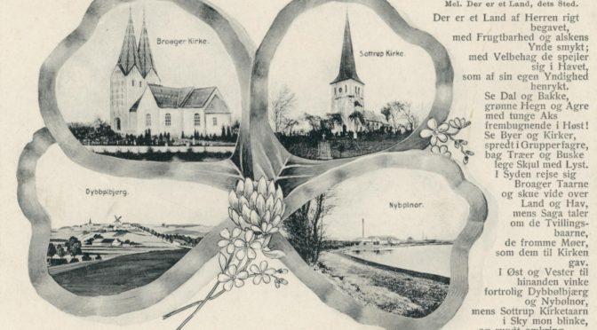 25. april 1918. … langt højere bjerge … end Dybbølbjerg!