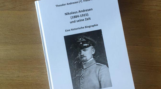 Ny bog om 84'eren Nikolaus Andresen