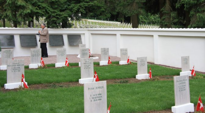Indvielse af Den Sønderjyske Kirkegård i Braine, Frankrig – 1924 og 2013