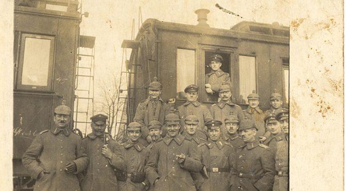 """15. juli 1918. """"Jeg har et ansvar, en pligt, overfor dem derude."""" Andreas Christian Andersen overtager kommandoen for et batteri"""