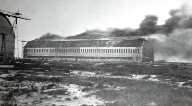 19. juli 1918. Luftskibsbasen i Tønder under angreb!