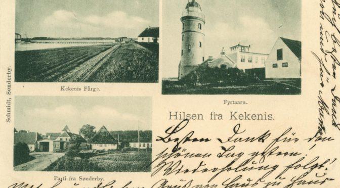 21. juli 1918. Endelig fremme: Desertører i robåd fra Kegnæs til Ærø