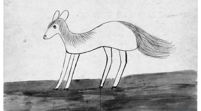 1. september 1918. »…Og nu maa du tegne den hvide Hest.«