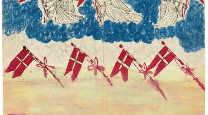 2. september 1918. »Jeg saa et stort Syn fra Himlen, hvor alle danske Flag faldt ned fra Himlen,«