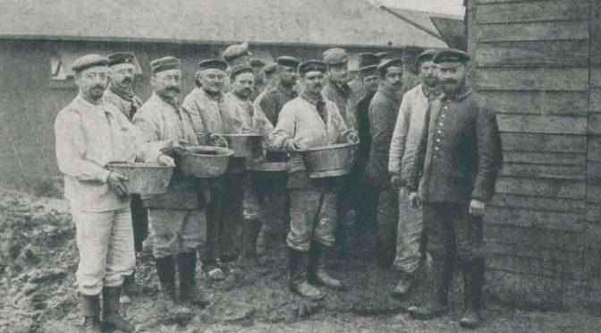 10. september 1918. Johannes Christensen: Afskeden blev  tung