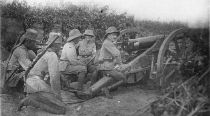 Verdenskrigen i Østafrika. Paul von Lettow-Vorbecks guerillakrig.